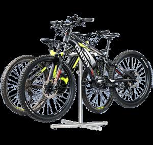 Bike Systeme Fahrradalter 2 mit Rädern
