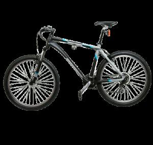 Bike Systeme Fahrradhalter 3 mit Rad