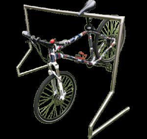 Hängeparker mit Rad